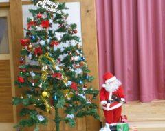 クリスマス会でした